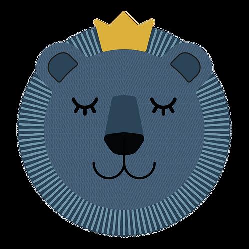Tête de lion en Vinyle