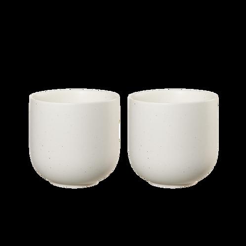 2 Tasses Sencha - Blanc
