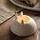 Thumbnail: Bougeoir en Porcelaine - Pingouin