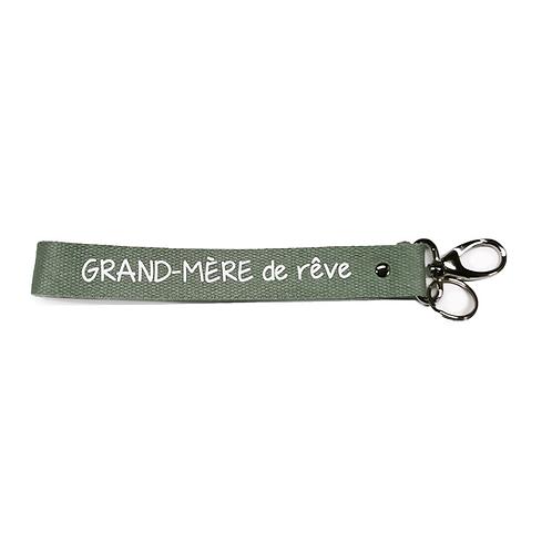 Porte-Clés Sangles - Grand Mère Kaki