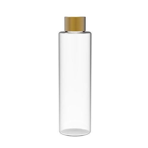 Vase Transparent - Gold