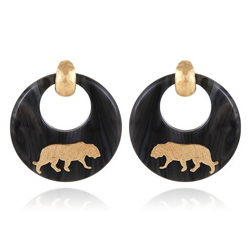 Boucles d'oreilles TIGRE - Gas Bijoux