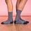 Thumbnail: Chaussettes en Couple - Marine et Gris