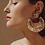 Thumbnail: Boucles d'oreilles LUNA WAVE - Gas Bijoux