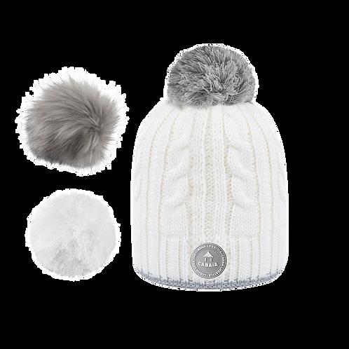 Bonnet CREAMY GIN - Blanc