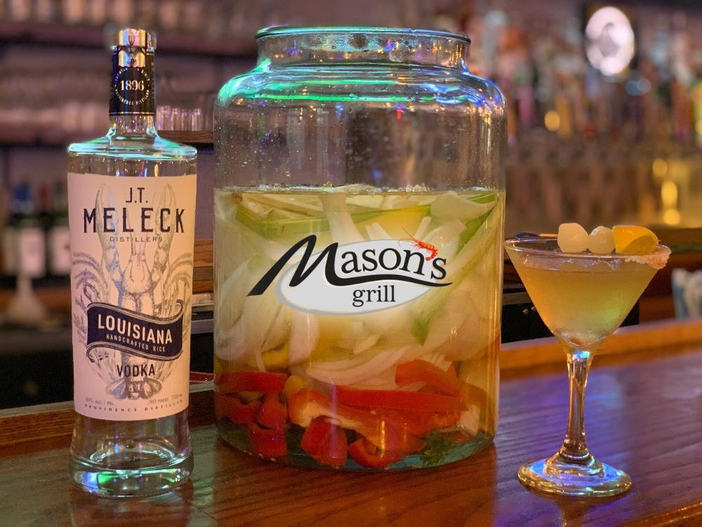 The Cajun Gibson at Mason's Grill