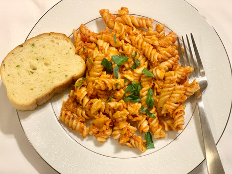 JT Meleck's Meatless Vodka Pasta