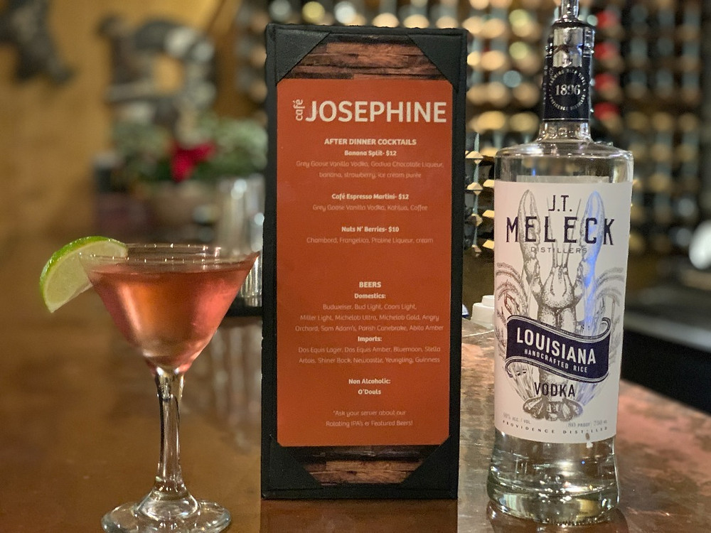 JT Meleck Cosmo at Cafe Josephine