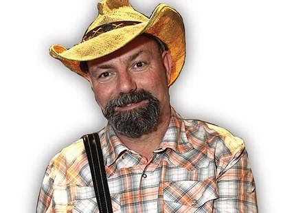 Louisiana musician Jamie Bergeron