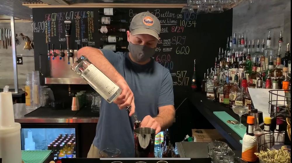 Logan McGahhey at The Cellar Bar & Lounge