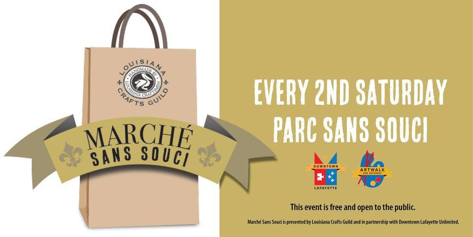 Marche Sans Souci event graphic