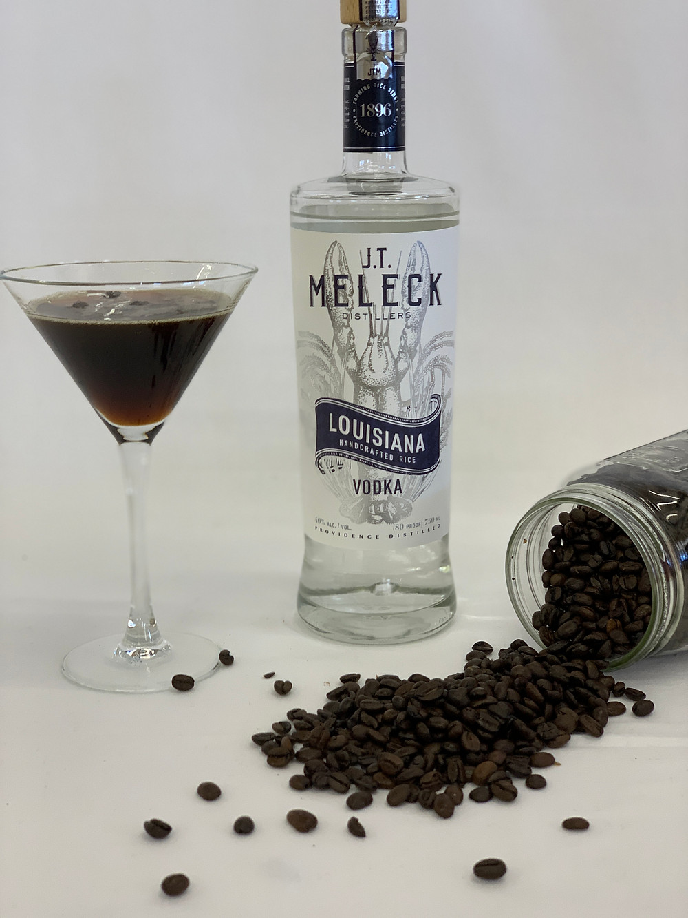 Espresso martini made with JT Meleck Vodka