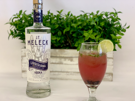 JT Meleck's Blueberry Vodka Mojito