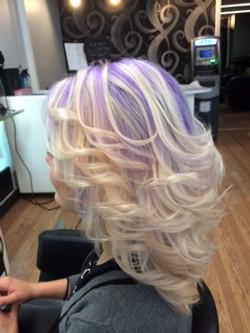 Reverse Ombre-Purple