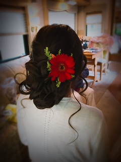 Bride Updo by Erica