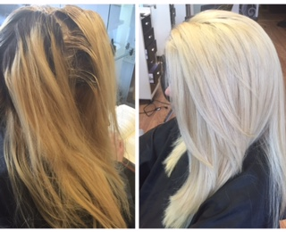 Blonding by Yoly