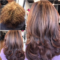 Highlights, Haircut by Ariana