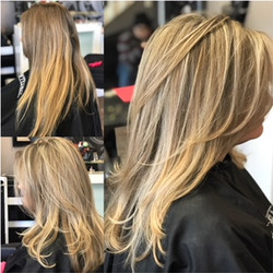 Blonde Highlights by Ariana