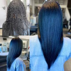 #bluehair by Stylist Olga