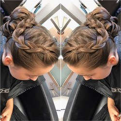 Braided Updo by Erica