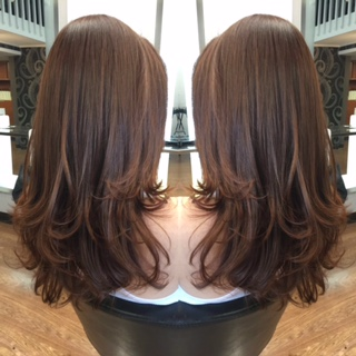 Layered Haircut by Julz