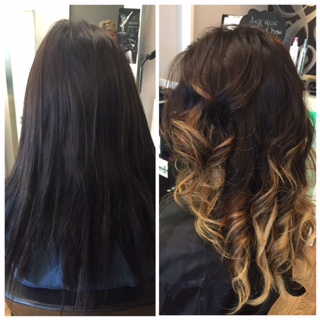 Ombre & Curls