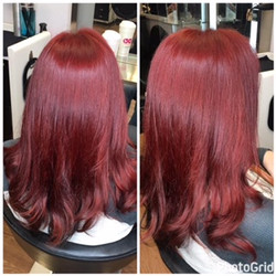 All Over Hair Coloring