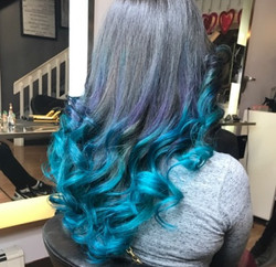 Mermaid Ombre done by Julz