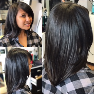 Layered Haircut by Laura