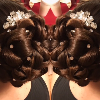 Wedding Updo by Erica