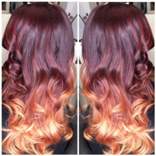 Ombre done by Julz