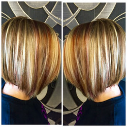 Highlights done by Denice