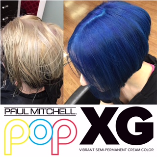 Blue Hair coloring by Julz
