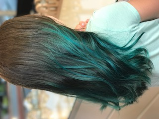 Teal Ombre by Laura