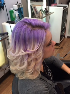 Reverse Ombre-Purple