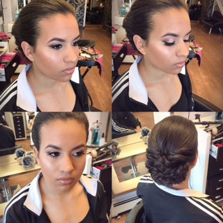 Prom Hair & Makeup by Erica