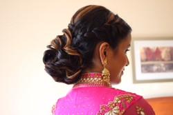 Bride Braided Updo