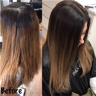 Color Correction Balayage by Erica