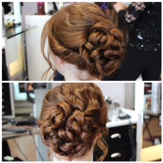 Prom Updo by Erica