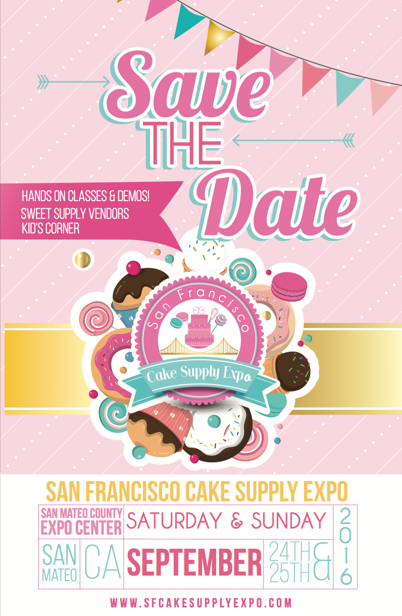 SF Cake Supply Expo Branding