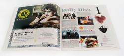Sate Magazine Spread