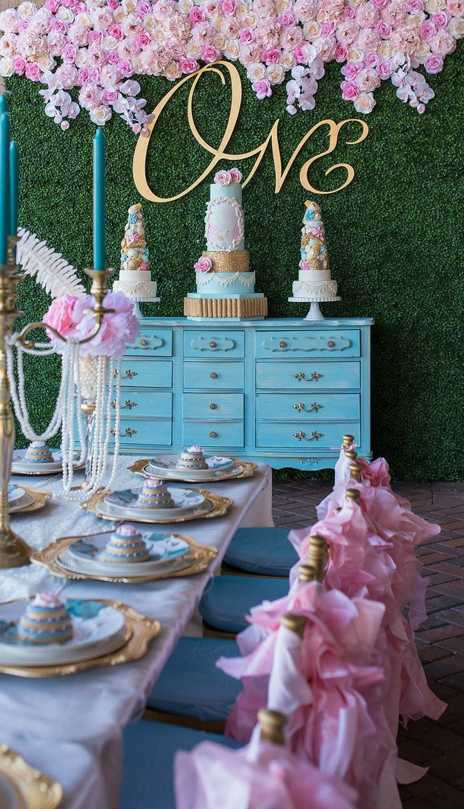 """Marie Ant""""ONE""""nette First Birthday Party"""