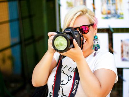 Minha vida de fotografa
