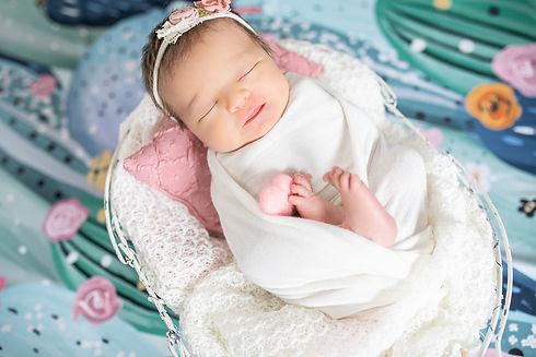 NEWBORN BABY GIRL • Ludimila Freitas-6.