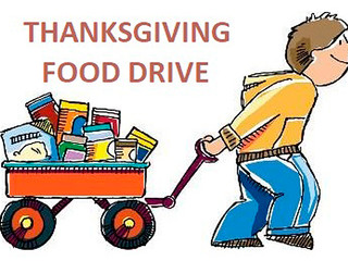 Annual Thanksgiving Food Drive Collection