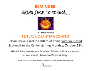 Good Gourd, It's The Great Jack-O-Lantern Contest