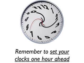 Jump It Up an Hour This Sunday 3/10 for Daylight Saving Time