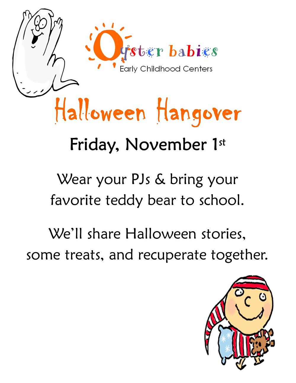 Halloween Hangover ~ Fri 11/1