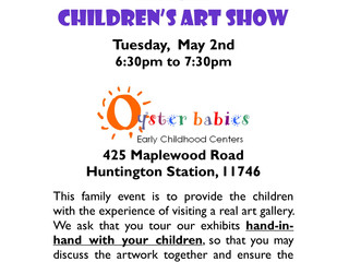 Annual Children's Art Show, Thu 5/2 (OBE Only)