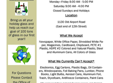 Where can I recycle my stuff?